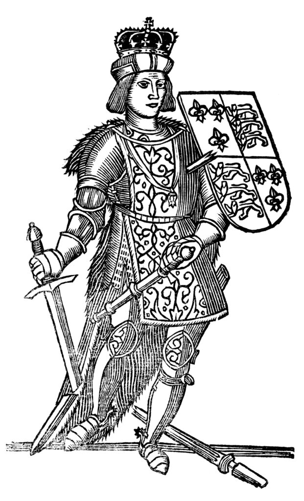 Depiction of Richard III, from John Taylor,  All the workes of ... (1630).