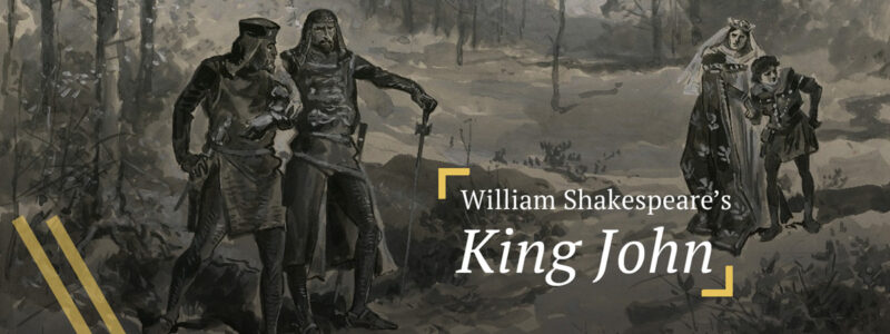 King John: King John and Hubert conspire to kill young Arthur
