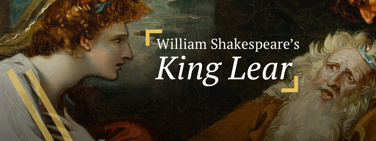 King Lear: Cordelia attends to her father, King Lear