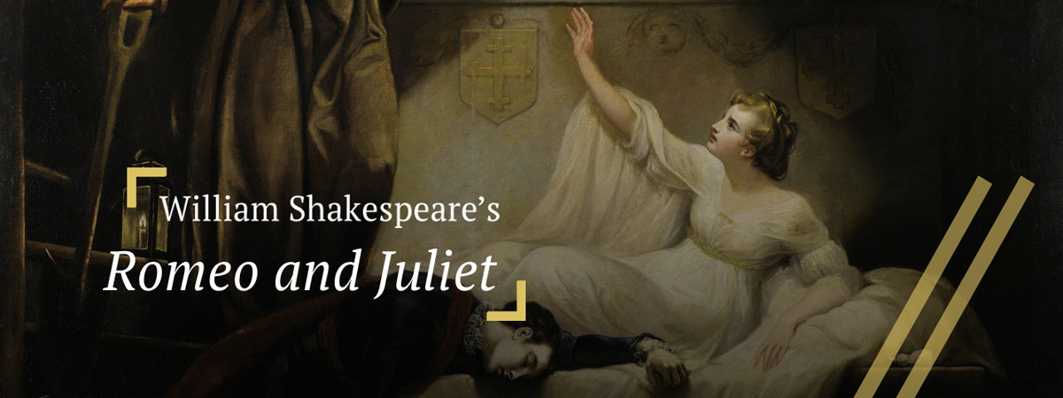 Romeo and Juliet: The two lovers in the Capulet crypt
