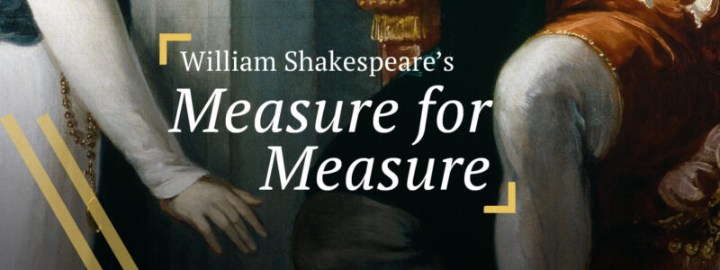 Measure for Measure: Isabella appealing to Angelo, detail