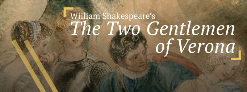 The Two Gentlemen of Verona: The revelation of Sebastian as Julia